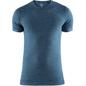 Craft M's Fuseknit Comfort Roundneck Shortsleeve Shirt Fjord Melange
